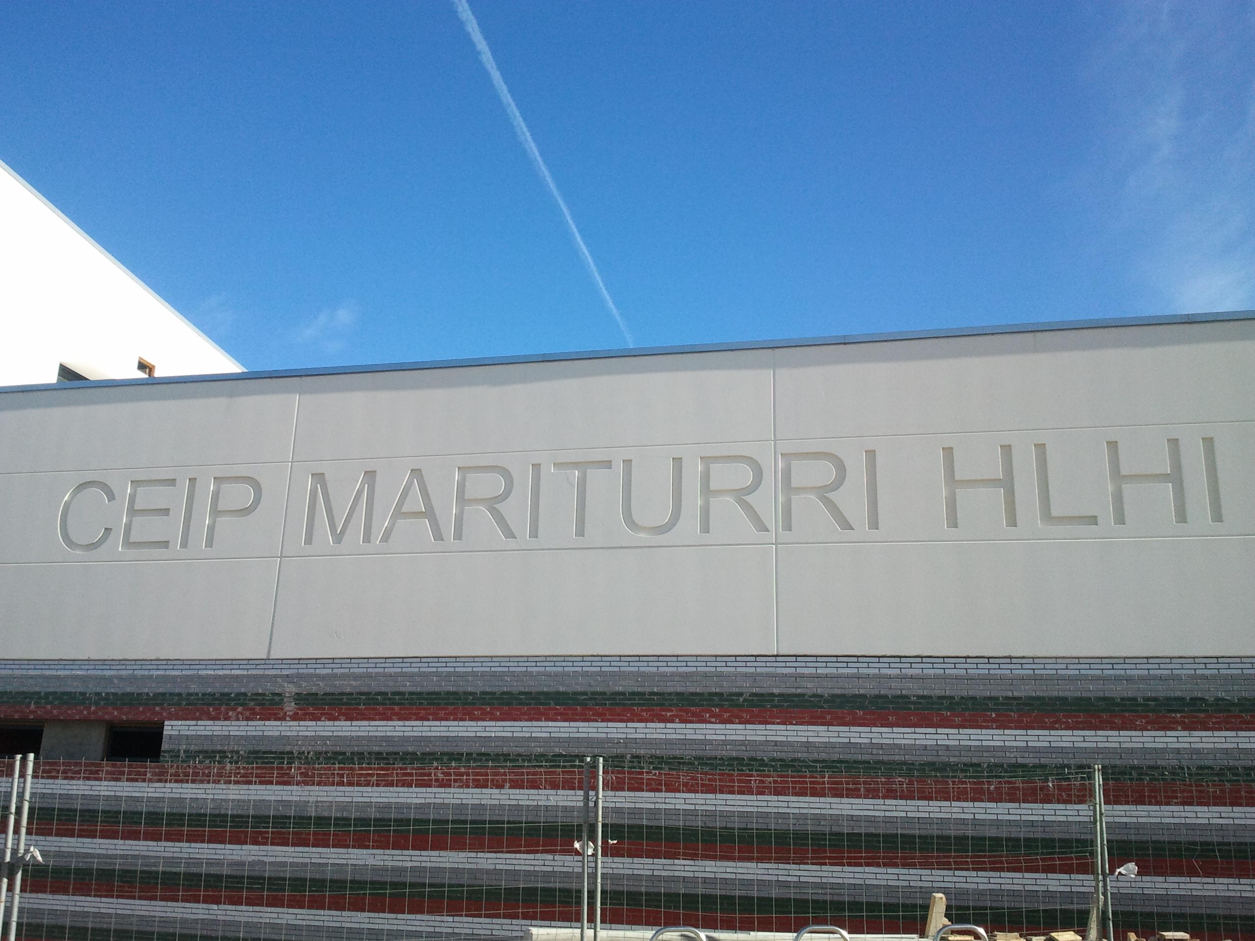 CENTRO EDUCATIVO MARITURRI EN VITORIA